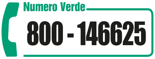 Chiama il numero verde 800146625